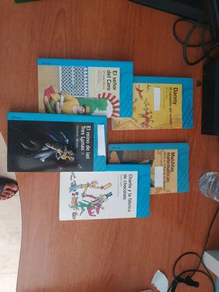 alfaguara juvenil varios libros.