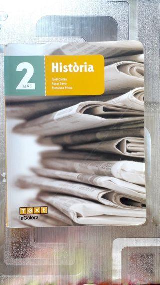 Libro de historia de España para 2 de bachillerato