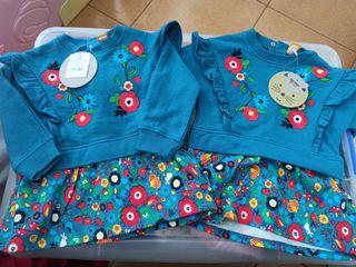 vestidos Tuc tuc gemelas/mellizas