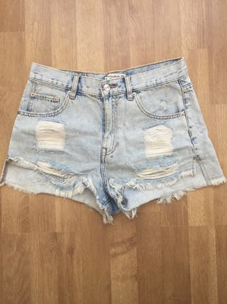 Shorts tejanos