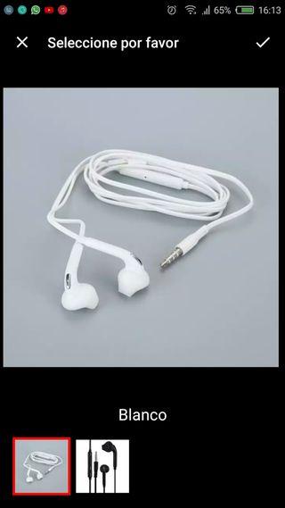 auriculares con micrófono nuevos