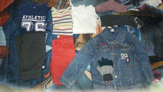 8 prendas ropa niño 4 años
