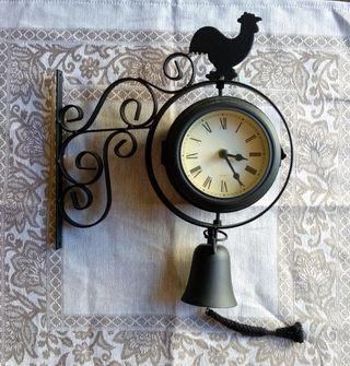 Reloj de pared diseño gallo