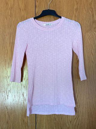 Jersey fino rosa.
