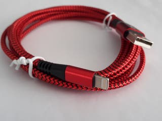ww443 Cable iPhone lightning 2m color rojo