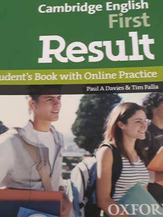 libro Cambridge english First