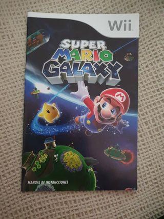 Manual de instrucciones super mario galaxy wii