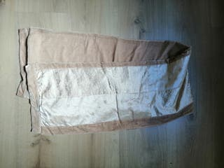 Bufanda foulard 2 tejidos