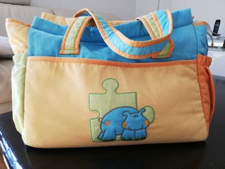 Bolsa de bebé más cambiador