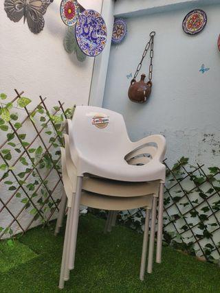 sillas jardin