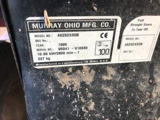 Tractor cortacesped murray LTX