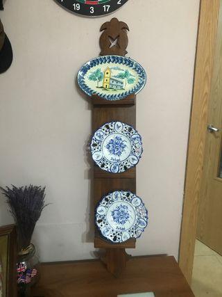 Colección de platos de cerámica
