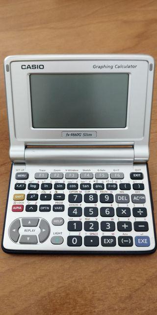 Calculadora gráfica Casio fx-9860G Slim