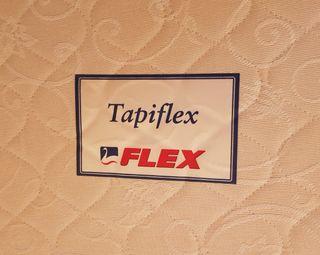 Base Tapizada Somier Flex 135x200