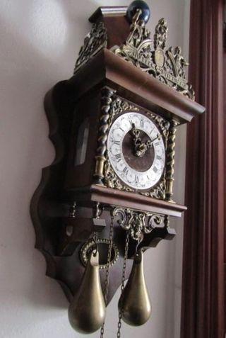 Reloj de pared holandés años 50 - 60