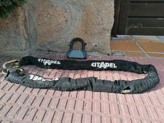 Cadena antirrobos para moto Citadel