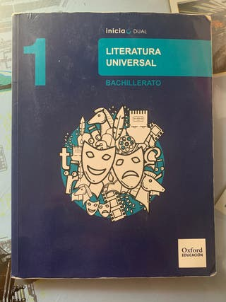 Libro literatura universal Oxford 1ºBach