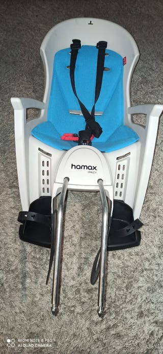 Silla para bicicleta con soporte