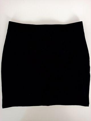 Falda / Minifalda Negra de Tubo