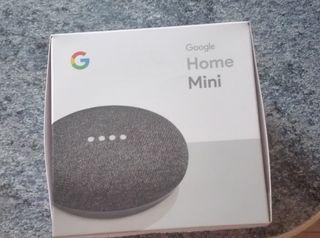 Google home mini nuevo.
