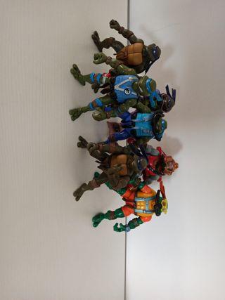 lote figuras tortugas ninja