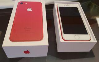 iphone 7 rojo edición limitada 128 gb