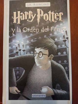 libro Harry Potter y la orden del Fénix