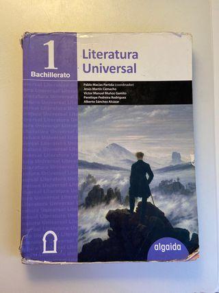 Libro Literatura Universal 1 Bachillerato