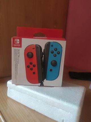 caja Joy con Nintendo switch