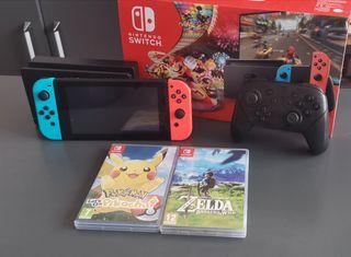 Nintendo Switch Como Nueva