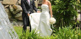 Vestido novia de Pronovias