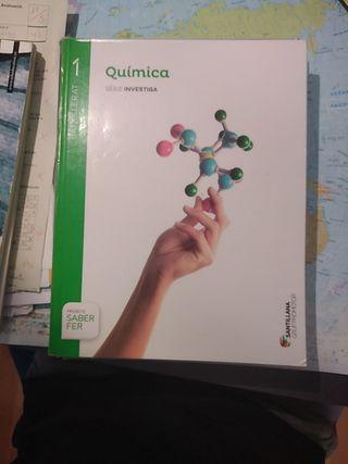 Libro de Química bachillerato