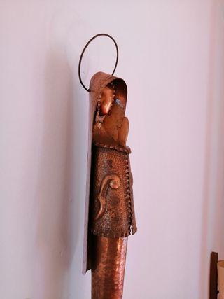 virgen de cobre antigua