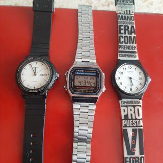 Lote de 3 Relojes CASIO
