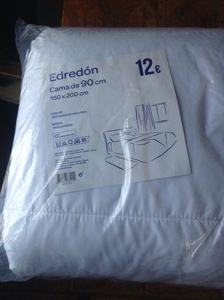 Edredón SIN ESTRENAR cama de 90 cm