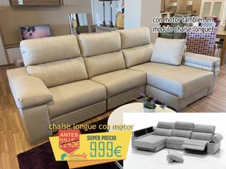 Chaiselongue con motores