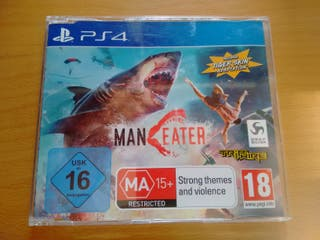 PS4 Maneater. Pal España. nuevo. Oferta, Promo