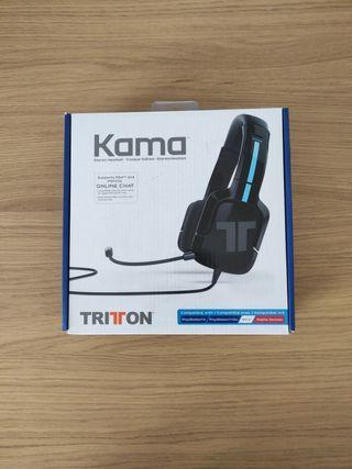 Auriculares con micrófono Tritton Kama PS5 - PS4