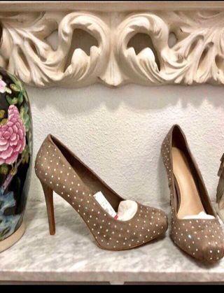 Zapatos mujer strass con etiqueta puesta