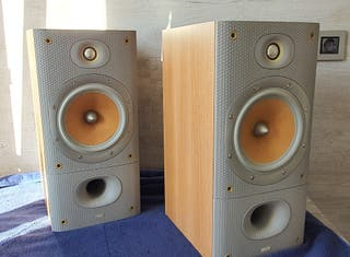 Altavoces monitores Bowers wilkins DM602 S3