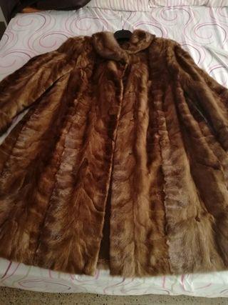 abrigo de pelo de visón