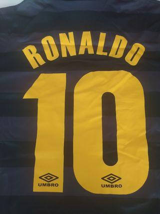 Camiseta Ronaldo. Inter de Milan. Talla L.