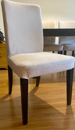 Conjunto 4 sillas y mesa comedor