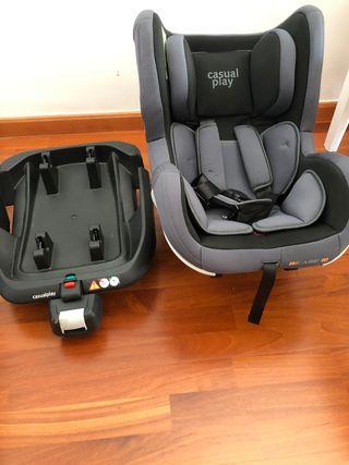 Silla coche CasualPlay Bicare Fix Grupo 0/1