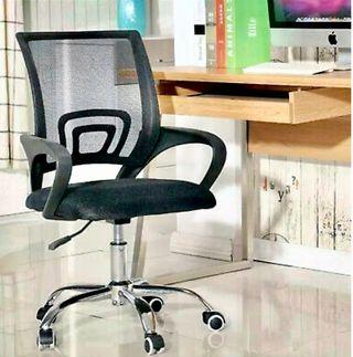 Silla de oficina con soporte lumbar giratotia