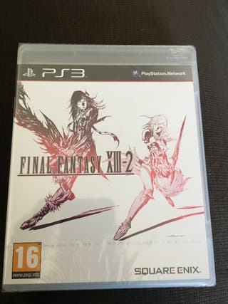 Final Fantasy XIII-2 PRECINTADO Ps3