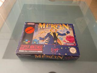Young Merlin Super Nintendo