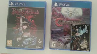 Bloodstained Curse Of The Moon PS4 Limited Run