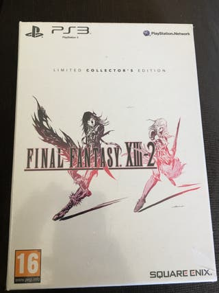 Final Fantasy XIII-2 Collectors Edition PRECINTADO