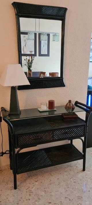 conjunto entradita (consola + espejo)
